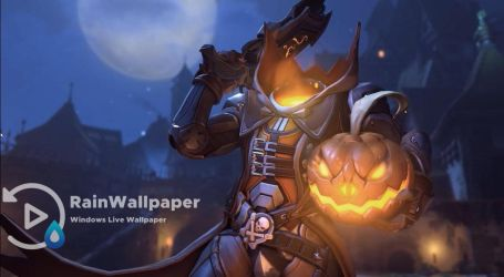 Reaper OW Halloween by Jimking