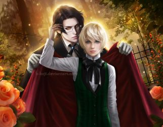 Kuroshitsuji: Claude Faustus and Alois Trancy by K-Koji