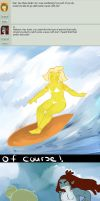 Surfs Up Dude by GingerQuin