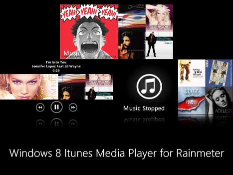 Windows 8 Itunes Media Player by CAY720325