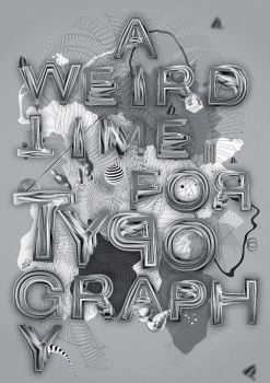 A Weird Time For Typography by TheUnknownBeing
