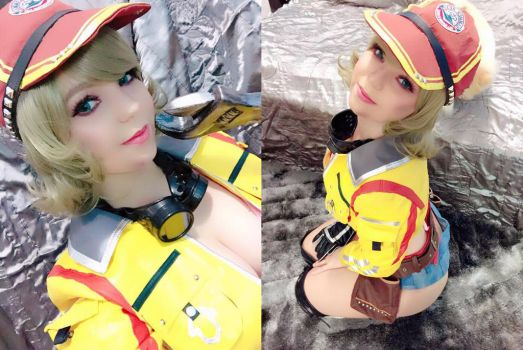 Cindy _ Final Fantasy _ Preview. by annieseixascos