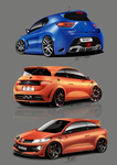Renault Sport Concepts by T-ry