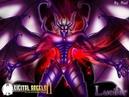 Lucifer demon Form by moai666