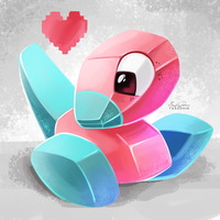 137 - Porygon by TsaoShin