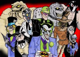 Welcome to Gotham COLOR by Boredman
