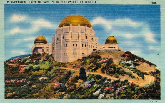 Vintage Los Angeles - Griffith Observatory by Yesterdays-Paper