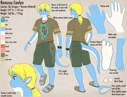 Ramzyuu Reference Clothed by ramzkun
