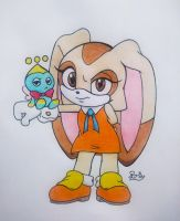 Cream A Rabbit + Cheese A Chao by PilloTheStar