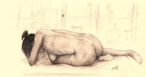 Life Drawing 5 by eterna2