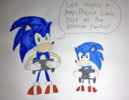 Project Sonic 2017 for Nintendo Switch Hype by SuperSmash6453