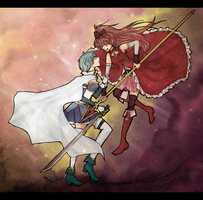 Puella Magi: In the Stars by gomimushi