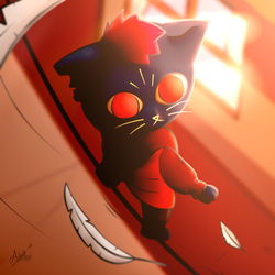 Mae (Margaret) - Night in the Woods NITW by iAbokai