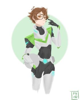Pidge Gunderson by Pynopi