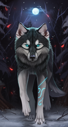Almost wolf) by Yakovlev-vad