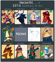 Summary 2016 by HectorVrl