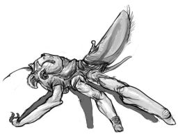 Insect/spider like predator by Exobio