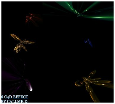 Pack 6 C4D EFFECT by dorot510