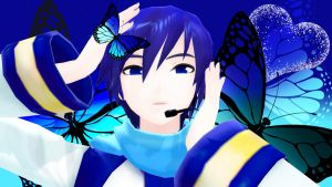 Butterfly on Your Right shoulder by FlowerAppend