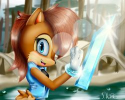 :CE: Sally Acorn by TothViki