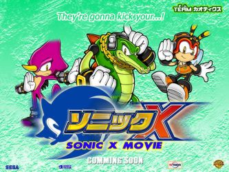 Sonic X The Movie Wallpaper 4 by Joramchameleon