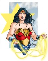 Wonder Woman by Quentin Hoover by industrialstudios