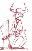 Daily Sketch: Weak Ax by Hunchy