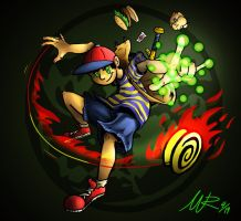 Ness, Hero of Mother Earth by Marioshi64