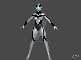 UltraWoman New Style(WIP) Evil one by HeroineFactory
