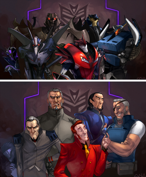 The Usual Suspects by Liquidsilk