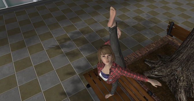 Max Caulfield. Contortion Time 2 by serango