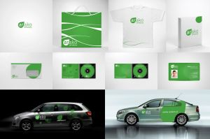 Corporate design by lys036