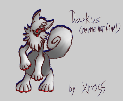 Chimereons MYO Contest Entry - Darkus [NO WINNER] by isaacboom