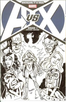 Avx Sketchcover by qiunzo