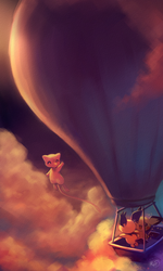 Hot air balloon trip by KoriArredondo
