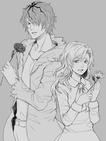 Garry and Mary by su-jinko