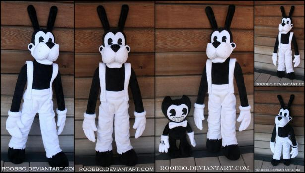 Bendy and the Ink Machine - Boris the Wolf Plush by roobbo