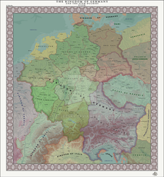 HAoE: Kingdom of Germany and the Stem Duchies by zalezsky