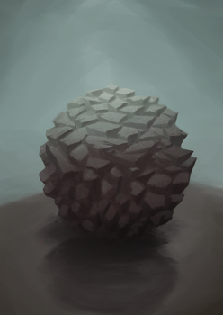 Material Study 4 : Rock by pixg