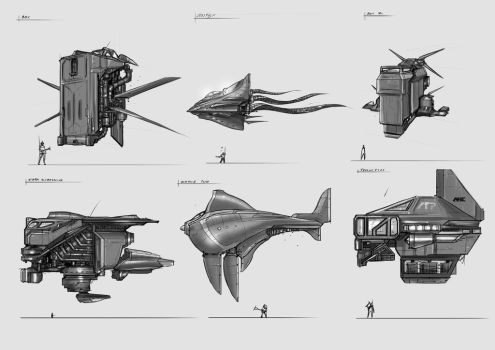 Submachine concept art by Chimerum