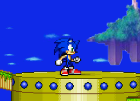 Sonic The Hedgehog by Max2809
