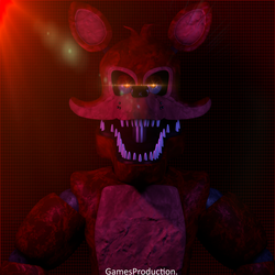 Stylized Nightmare Foxy (4K) by GamesProduction