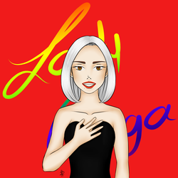 Pride: Lady Gaga by xFeajix