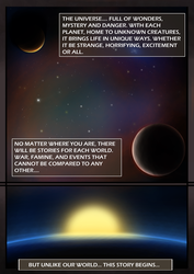 Original the Comic Pg1 by WarlordPete