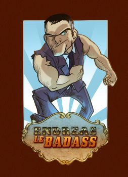 Endreas : The badass butler by kappou-caroline