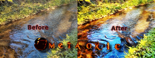 My Surreal Effect Process - Before and After by Metaoxic
