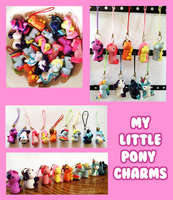 My Little Pony Miniature Clay Charms by IcyPanther1