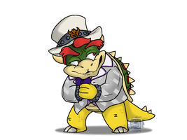 Nintendo Switch - Bowser Pimp by BKcrazies0