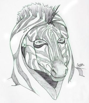 Briar - Zebra Mask by Carlzors