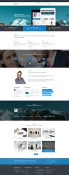 Mixed Professional PSD Template for Any Business by pixel-industry